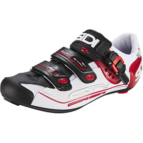 Sidi Genius 7 Chaussures Homme, white/black/red